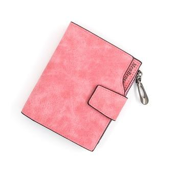 Women's Wallet Short Wallet PU Wallet Women's Card Clip Pocket Wallet Fashion Short Wallet Cute Candy Color Zero Wallet Coin Bag фото
