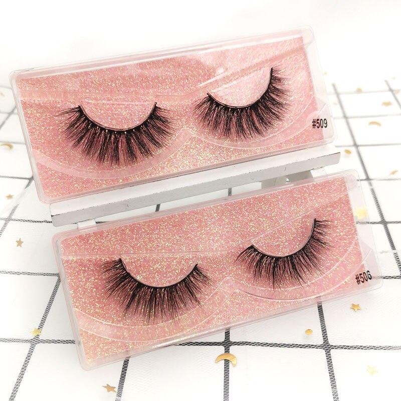 Image 3 - Eyelashes Wholesale 20/30/40/50pcs Mink Eyelashes Wholesale Lashes In Bulk Mink Lashes Natural False Lashes Bulk Makeup LashesFalse Eyelashes   -