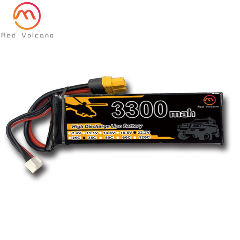 Литий-полимерный аккумулятор 3300mah 6S 22,2 V 25C 35C 65C