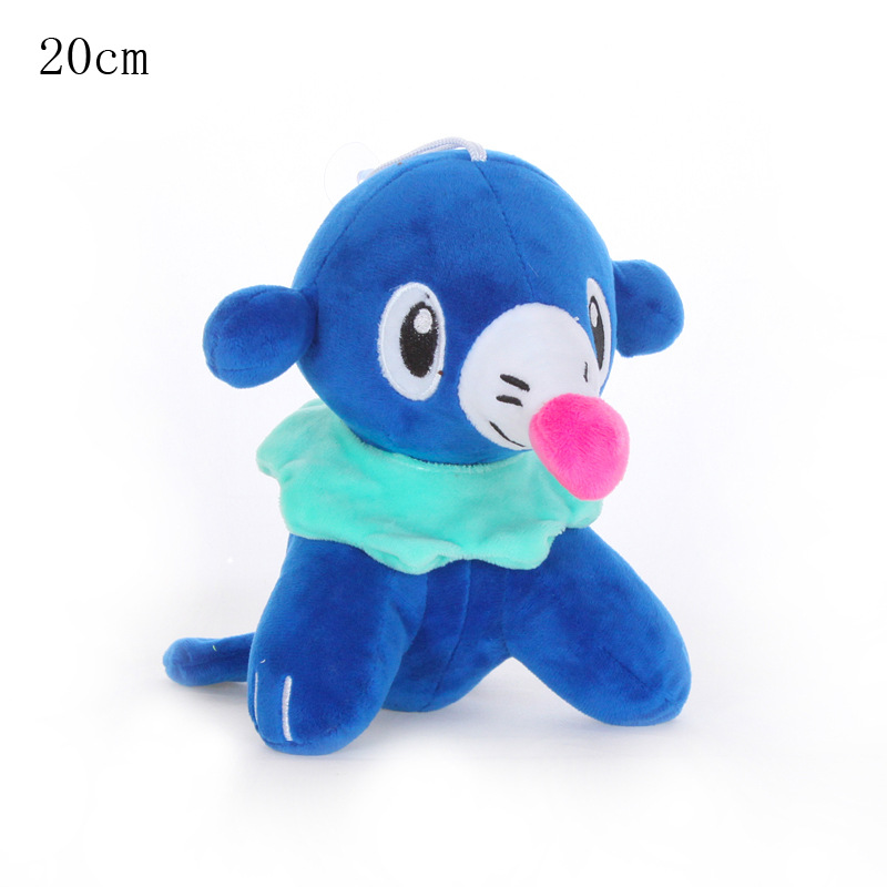 1pcs Kawaii Popplio Plush Toy Doll Cartoon Popplio Pendant Soft Stuffed Toys For Children Kids Birthday Gift