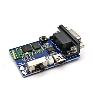 Image 5 - RS232 Bluetooth Serial Adapter Board Communication Master Slave 2 Modes 5V Mini USB Bluetooth Serial Port Profile Module