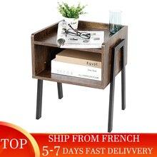 Ship From FranceSimple Modern Bedside Table In Northern Europe Bedroom Furniture, Practical Bedside Table Storage Cabinet HWC