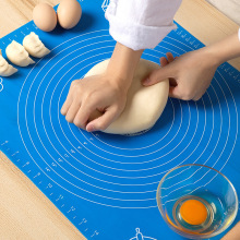 Mat Tools Dough-Pad Rolling-Mat Pastry Kneading Baking Non-Stick Silicone 70x70cm Thickening-Flour