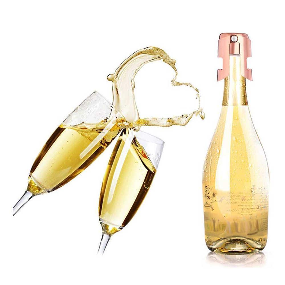 Champagne Stainless Steel Sparkling Wine Liquor Bottle Stopper Saver Sealer Safe