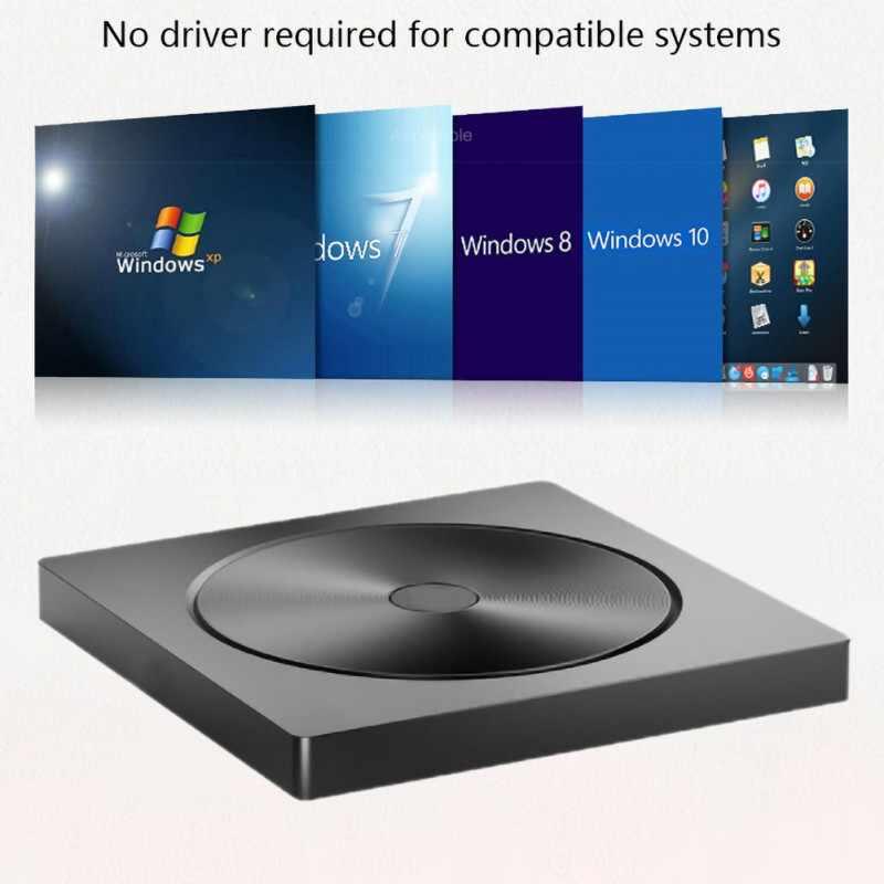 外部 dvd ドライブ usb 3.0 タイプ c cd rom 再ライターバーナー windows 用 os ノート pc デスクトップ pc