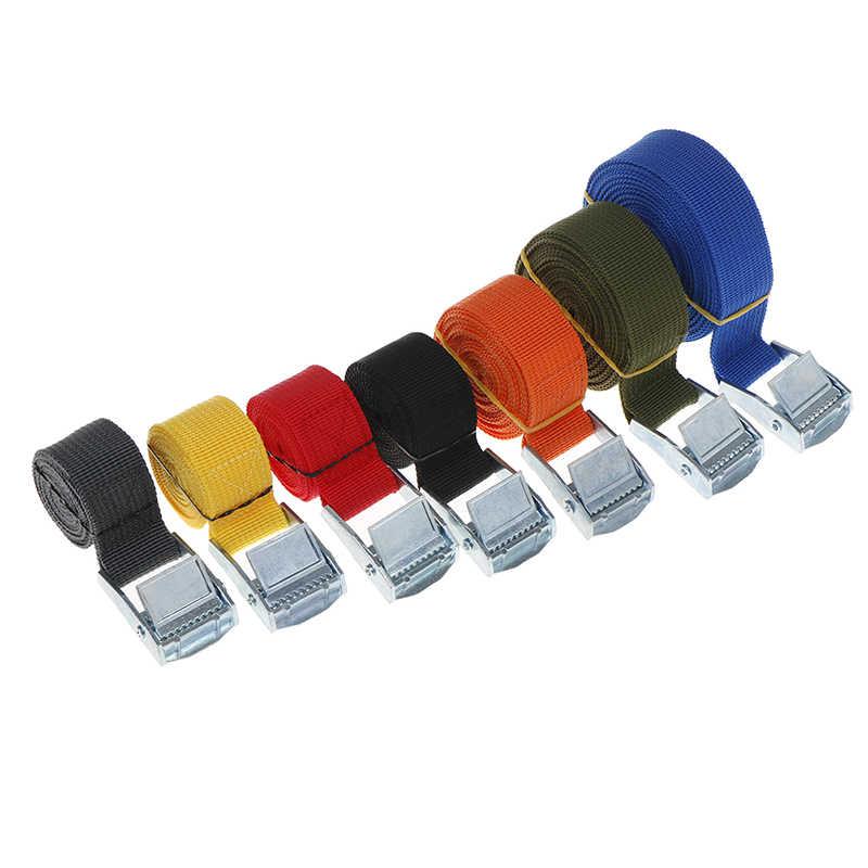 자동차 자동차 보트 고정 스트랩 수하물 벨트 합금 buckle2.5cm * 3m 자동차 장력 로프 래칫 타이 수하물 스트랩 묶여