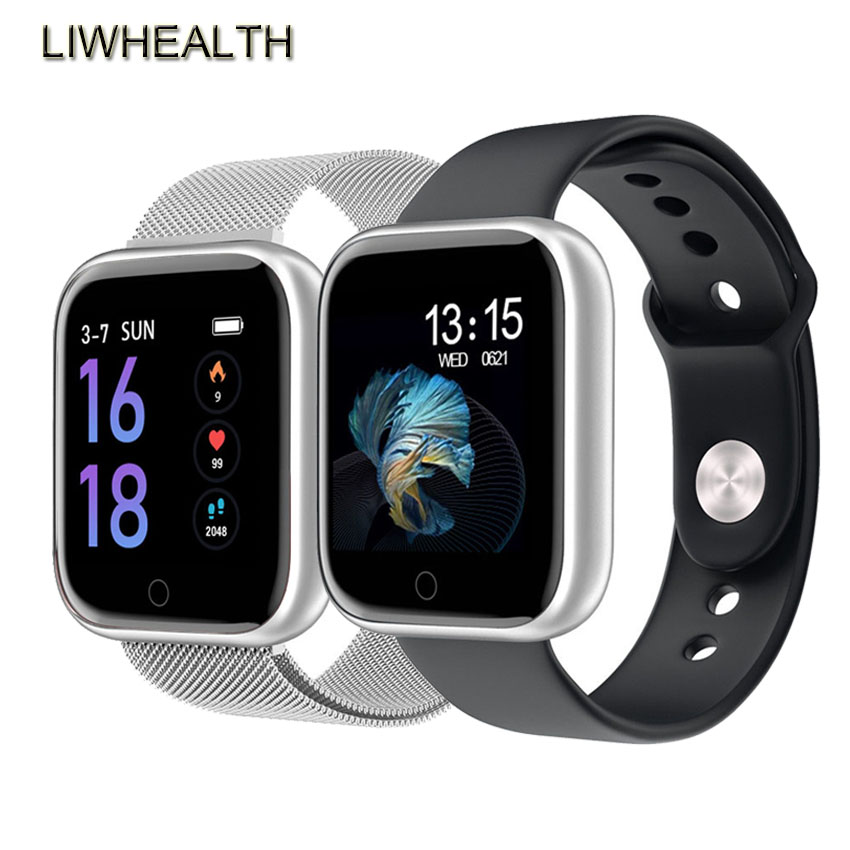 Luxury IWO 80 Smart Watch Women Men Metal <font><b>Smartwatch</b></font> Reloj Inteligent For Apple/Xiaomi/Huawei PK B57/<font><b>P70</b></font>/Fit Bit Not IWO 10 image