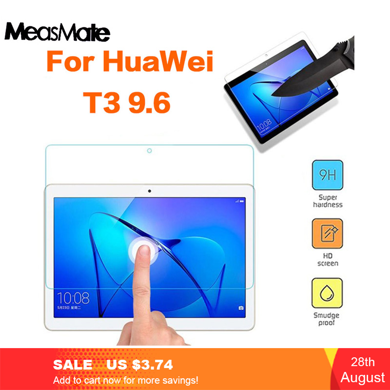 Glass-Film Screen-Protector Protective-Glass Tablet Huawei Mediapad For T3 10