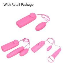 Waterproof Mini Electric Vibrating Egg & Jump Egg G-Spot Massager Female Clitoris Vibrator Bullet Adult Sex Toys For Woman