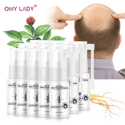 20PCS OMY LADY Anti Hair Loss Hair Growth Spray Essential Oil Liquid For Men Women Prevents Hair Thicker Hair Growth Regeneratio