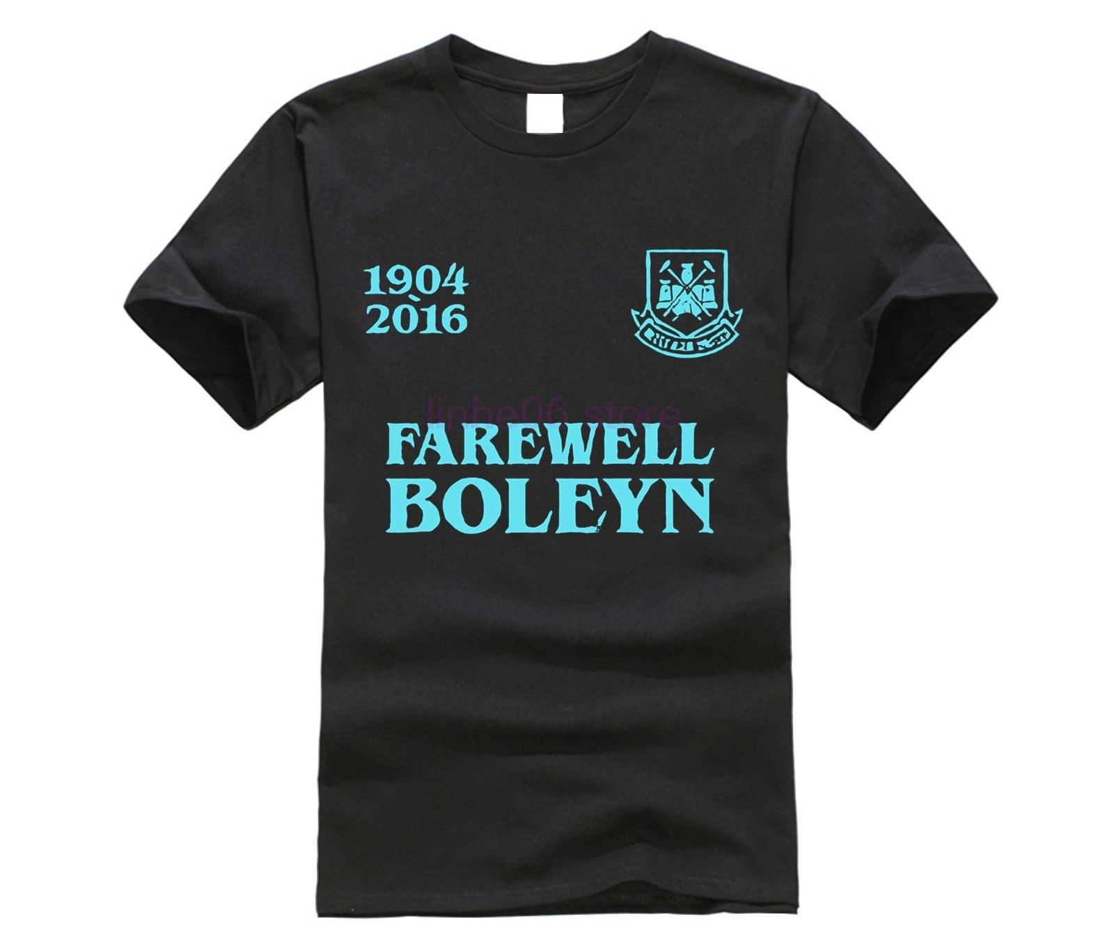 Farewell Boleyn T Shirt West Ham Ground Upton Park Hammers Tribute Mens Gift Top