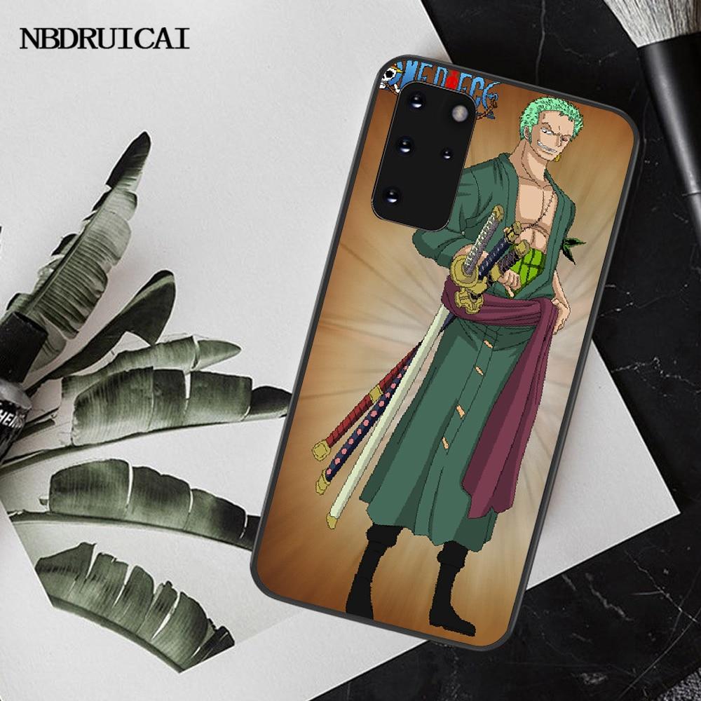 Nbdruicaiマンガワンピースロロノア · ゾロ電話ケースS20 プラス超S6 S7 エッジS8 S9 プラスS10 5 グラム