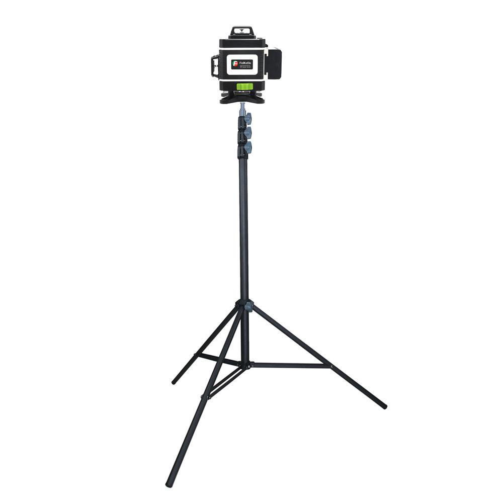 Professional Quality Metal Tripod 3M Laser Level Nivel Laser Tripod for Laser Level 4 Knots Adjustable 1 4inch Interface