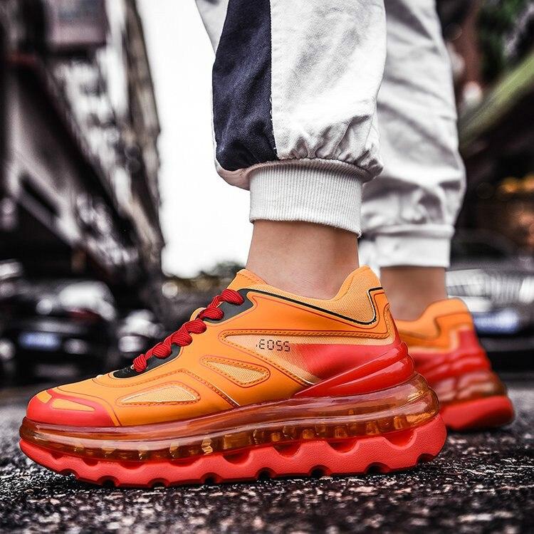 الهيب هوب الشارع الشهير الخريف مكتنزة رياضية الرجال تنفس شبكة حذاء كاجوال الرجال الحلوى الأزياء تنيس Masculino Adulto رياضية-في أحذية رجالية غير رسمية من أحذية على  مجموعة 1