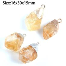 2019 New Natural Stone Pendants for Jewelry Making Irregular stone Crystal Charms DIY Necklaces Bracelet