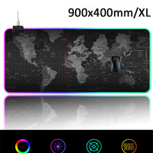 Mouse-Pad Keyboard-Pad Led-Lighting-Mode for Gaming XL 900x400-Mm Large 14