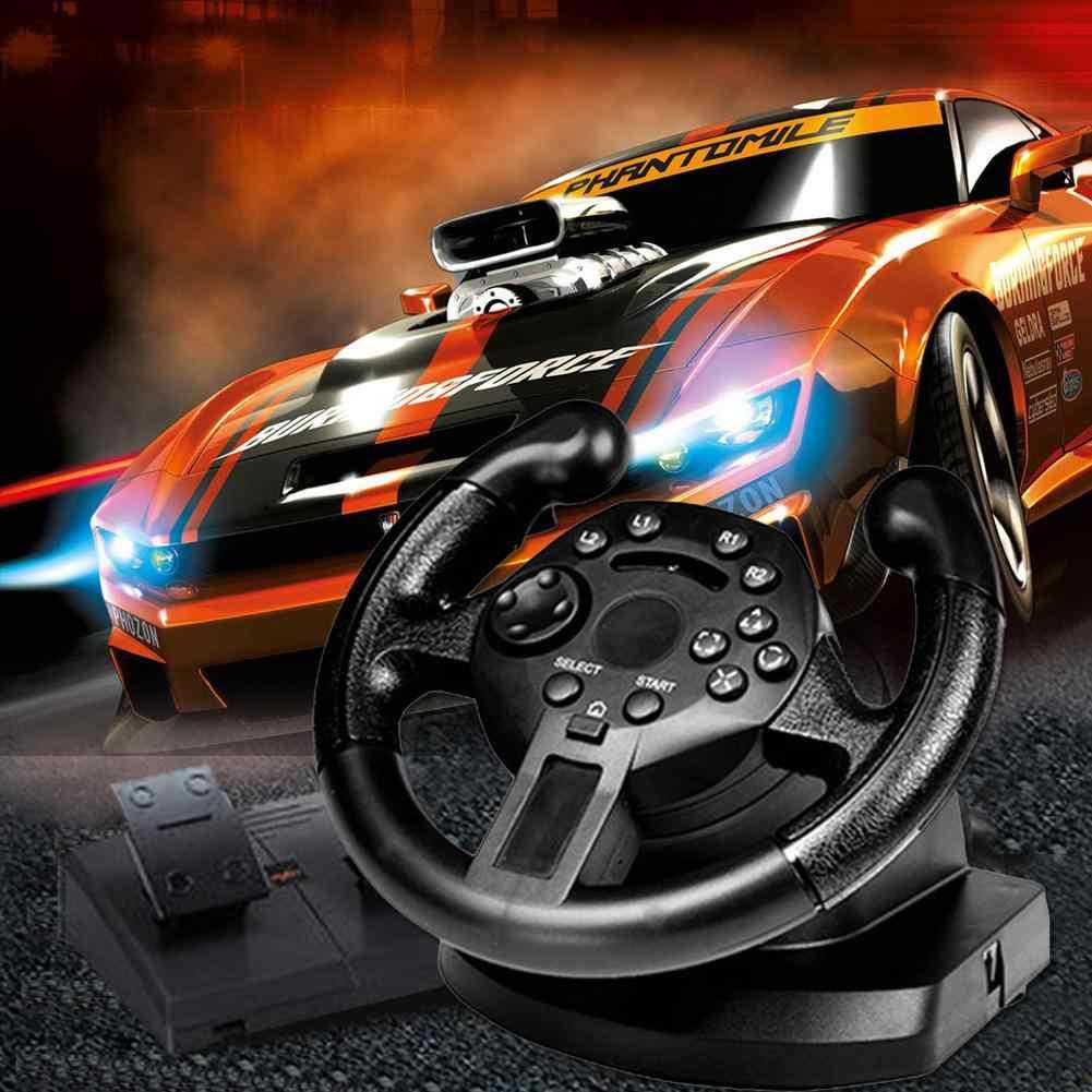 Nouveau volant de course chaude pour PS4 pour PS3 jeu volant PC Vibration Joysticks télécommande roues d'entraînement pour PC