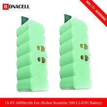 14.4V 6400mAh LI-ION Bateria para iRobot Roomba Série 500 600 700 800 510 536 550 560 580 620 630 650 760 780 790 870 880 Z50