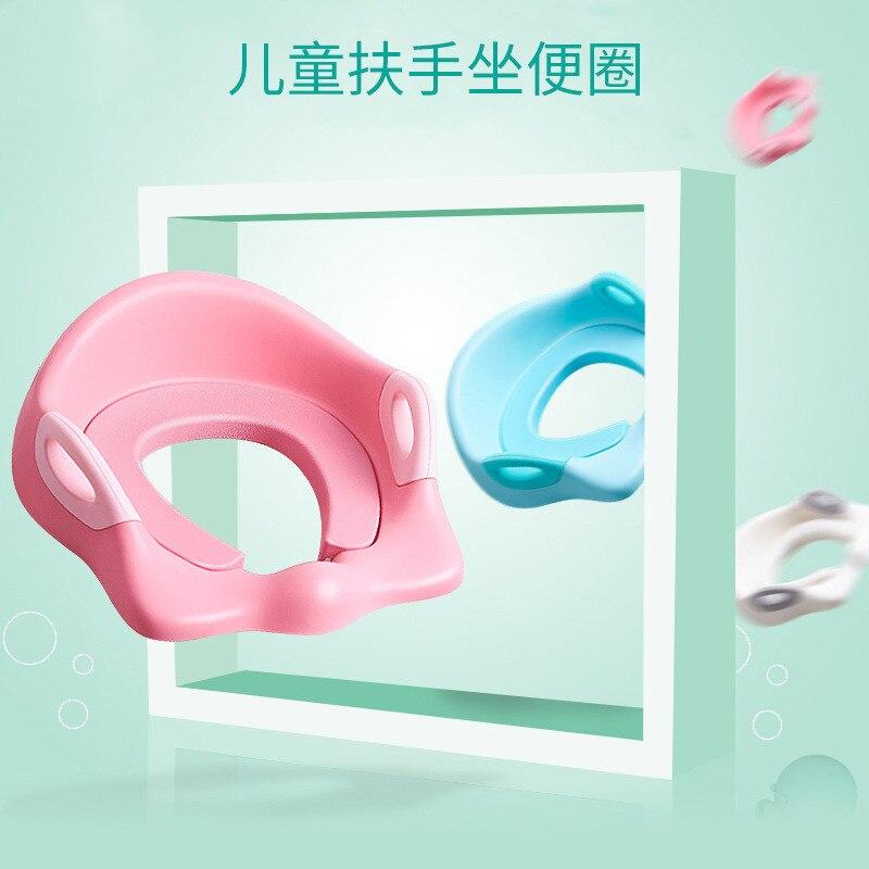 CHILDREN'S Toilet Seat Baby Urinal Men's Chamber Pot Cover Women's Chamber Pot CHILDREN'S Toilet Mat Kids Pedestal Pan Toilet Se