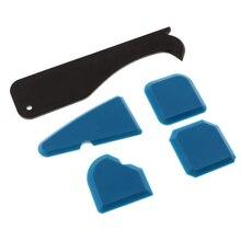 8X Silicone Sealant Tool Caulking Kit for Bathroom Kitchen Floor Corner Caulk