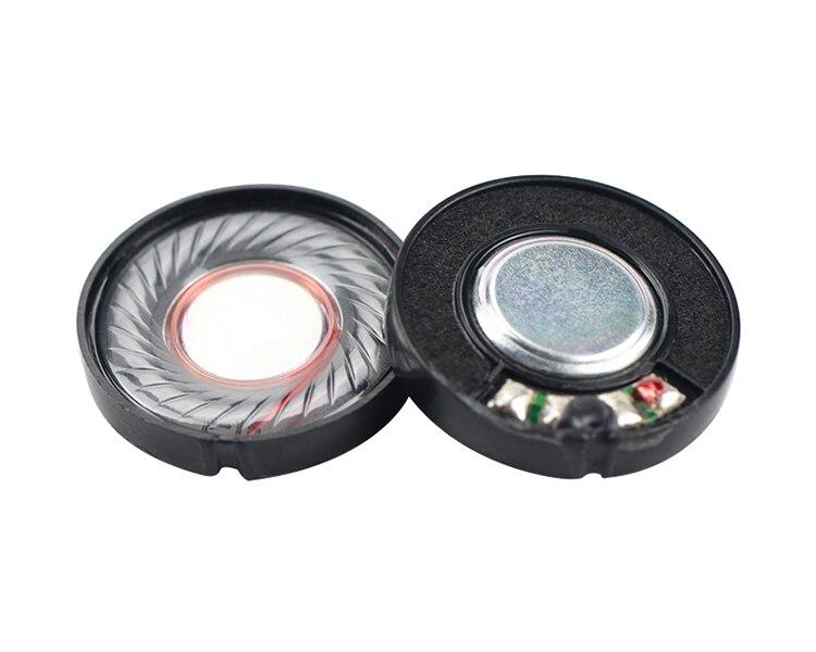 2pcs 30mm Headphone Speaker Headset Driver 32 Ohm 100db Repair Parts For Headphone Diy