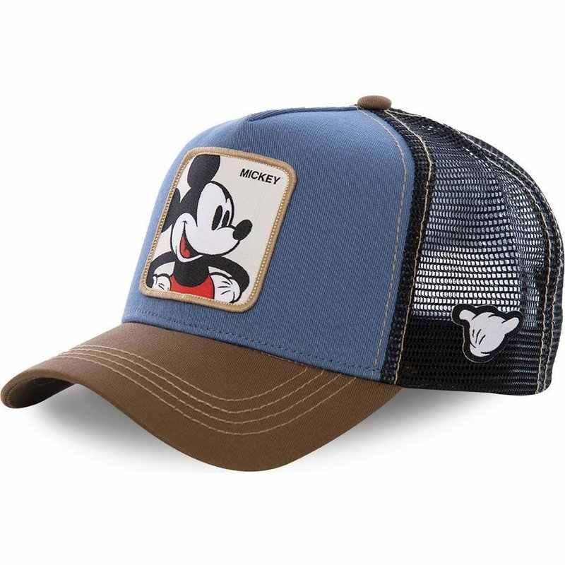 Casquette de Baseball en coton pour hommes | Nouvelle marque de dessin animé Mickey DONALD canard, casquette Hip Hop papa maille, chapeau de camionneur, Dropshipping