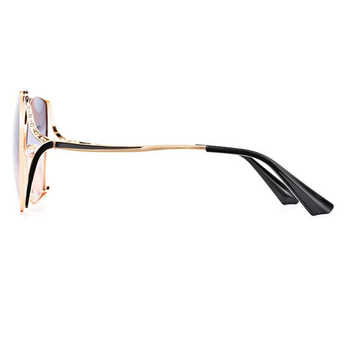 New Women Polarized Sunglasses Metal Frame 4 Colors Goggle UV400 Driving Glasses For Woemen With Box