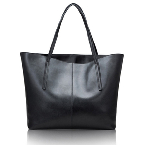 Image 3 - Silver Cow Genuine Leather Women Bags 2020 Big Handbag Fashion Top handle Hand Bag Ladies Tote Large Luxury Female Shoulder Bag