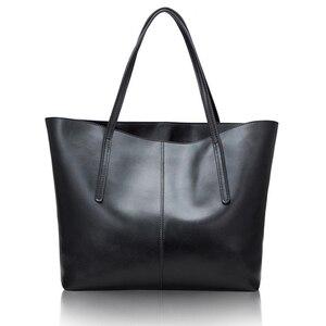 Image 3 - Zilveren Koe Echt Leer Vrouwen Tassen 2020 Grote Handtas Mode Top Handvat Hand Tas Dames Tote Grote Luxe Vrouwelijke schoudertas