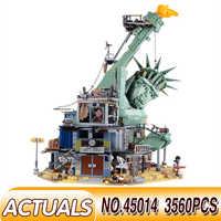 45014 LegoEDS Film Serie Die Statue von Liberty Willkommen zu Apocalypseburg 70840 Set Modell Gebäude Kit Block Ziegel Kinder Spielzeug