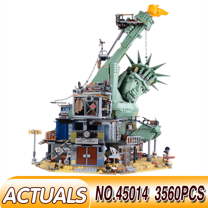 45014 LegoEDS Movie Series The Statue of Liberty Welcome to Apocalypseburg <font><b>70840</b></font> Set Model Building Kit Block Brick Kids Toys image
