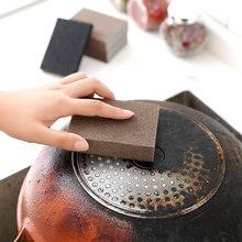 Brown/Black Nano Emery Magic Sponge DIY Dishwashing Sponge For Cleaning Rust For Kitchen Bathroom Accessories
