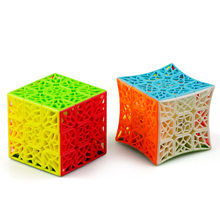 CuberSpeed QiYi DNA concave 3x3 Stickerless Speed Cube Puzzle DNA 3x3x3 Stickerless Cube(China)