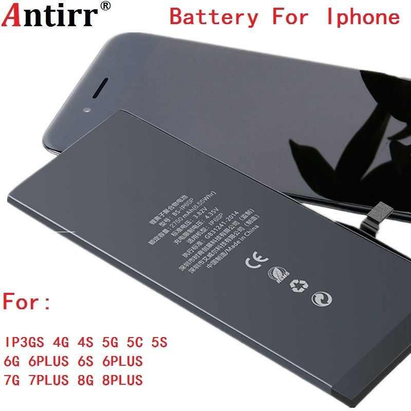 オリジナル容量電話のバッテリー iPhone 3gs 4 4 4s 5 5 グラム 5c 5 4s 6 6 グラム 6 プラス 6s 6s プラス 7 7 グラム 7 プラス 8 8 プラス交換電池