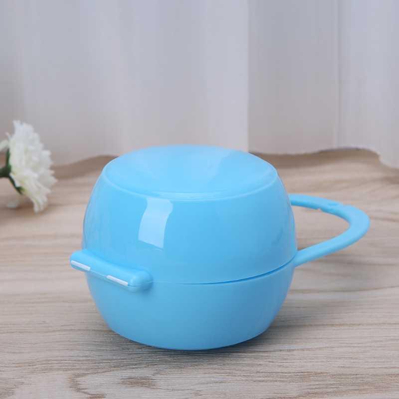 Portable bebé niño niña chupete soporte de caja de tetina cuna caja Unisex nuevo