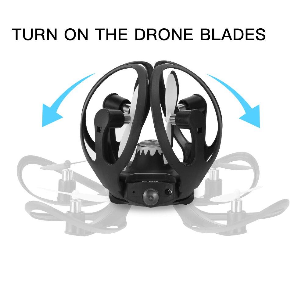 Mini RC Hand Sensor Quadcopter Drone with 480P Camera 12