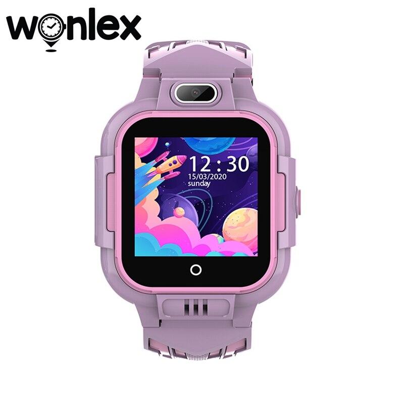 Wonlex Smart-Watches Anti-lost GPS-Tracker SOS-Monitor 4G Kids IP67 Waterproof KT16 Telephone Baby Video Call Watch Camera Clock