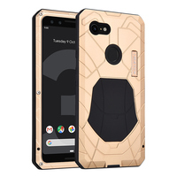 IMATCH Original For Google Pixel 3 3XL Phone Case Hard Aluminum Metal Protector Cover Heavy Duty Protection Shockproof Funda