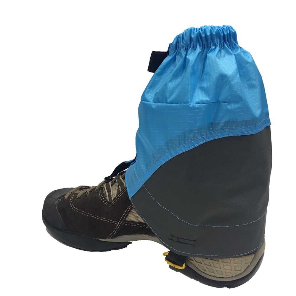 Ao ar livre unisex impermeável correndo trilha polainas proteção sandproof sapatos de neve cobre para triathlon maratona caminhadas andando