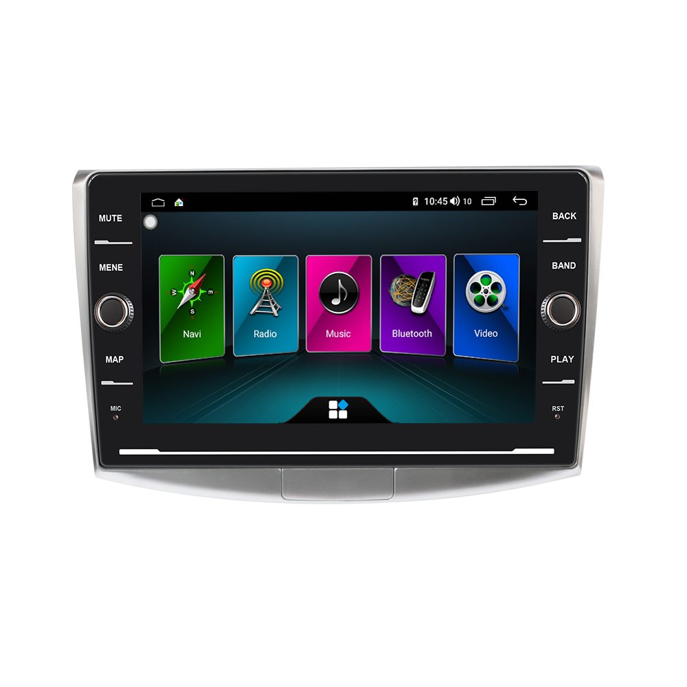 EBILAEN Car Multimedia Player For VW Volkswagen Passat B6 B7 CC 2Din Android 8.1 Autoradio Tape Recorder GPS Navigation IPS 4G image