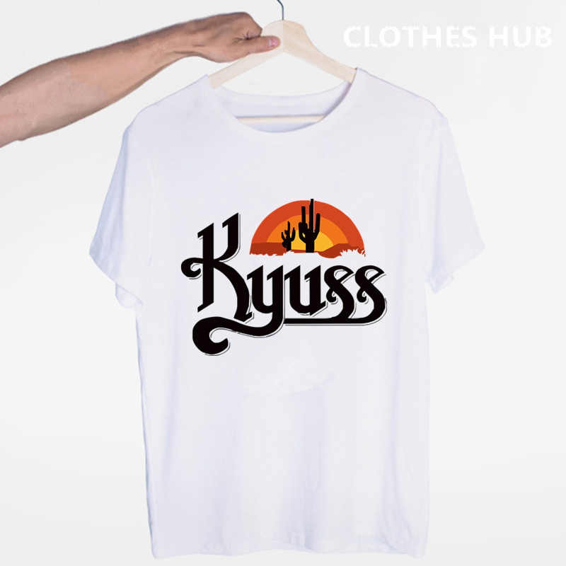 Kyuss Rock Band Queens Of The Stone Age Clutch T-shirt O-hals Korte Mouwen Zomer Casual Mode Unisex Mannen En Vrouwen tshirt