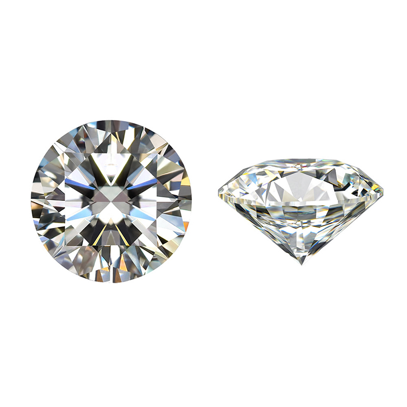 1.5 carat 7.5mm loose moissanite D color excellent Brilliant cut gem stone clarity VVS1 round shape Moissanite