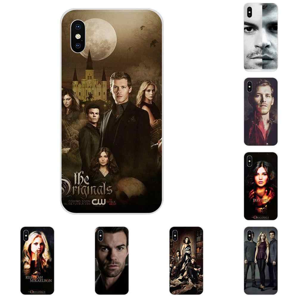 Shell TPU macio Os Originais-the Vampire Diaries Para Galaxy Grand A3 A5 A7 A8 A9 A9S On5 On7 mais Pro Estrela 2015 2016 2017 2018