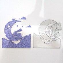 Rabbit Moon Cloud Metal Cutting Dies New 2019 for Card Making Craft Scrapbooking DIY Album Embossing Paper Die Cut
