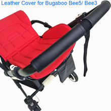 1:1 Baby Stroller Handle Leather Protective Case Cover for Bugaboo Bee5 Bee3 Bee 5 3