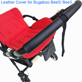 цена на 1:1 Baby Stroller Handle Leather Protective Case Cover for Bugaboo Bee5 Bee3 Bee 5 3