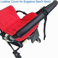 1:1 wózka dziecięcego uchwyt skórzany futerał ochronny pokrywa dla Bugaboo Bee5 Bee3 Bee 5 3