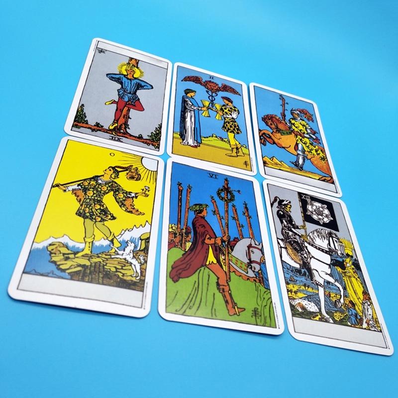 Image 5 - MUMIAN 2019 карточные карты Таро с красивой сумкой для divination личного использования колода карт Таро полная английская версия-in Уличные инструменты from Спорт и развлечения