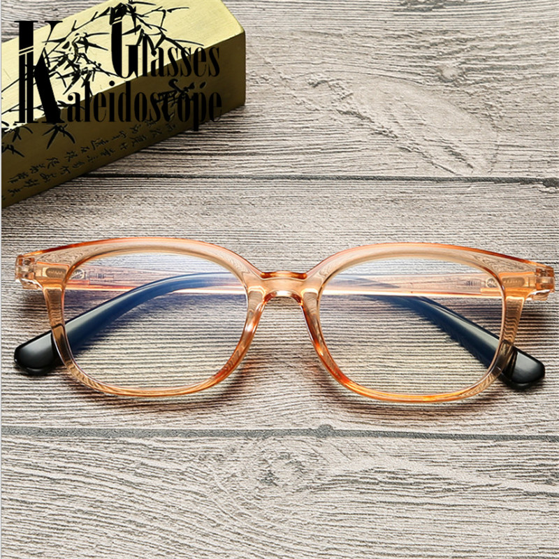 Anti-blue Light Reading Glasses Men Women Anti-fatigue Resin Lens Transparent Presbyopia Glasses Diopter +1.0 +1.5 +2.0 +2.5 +3