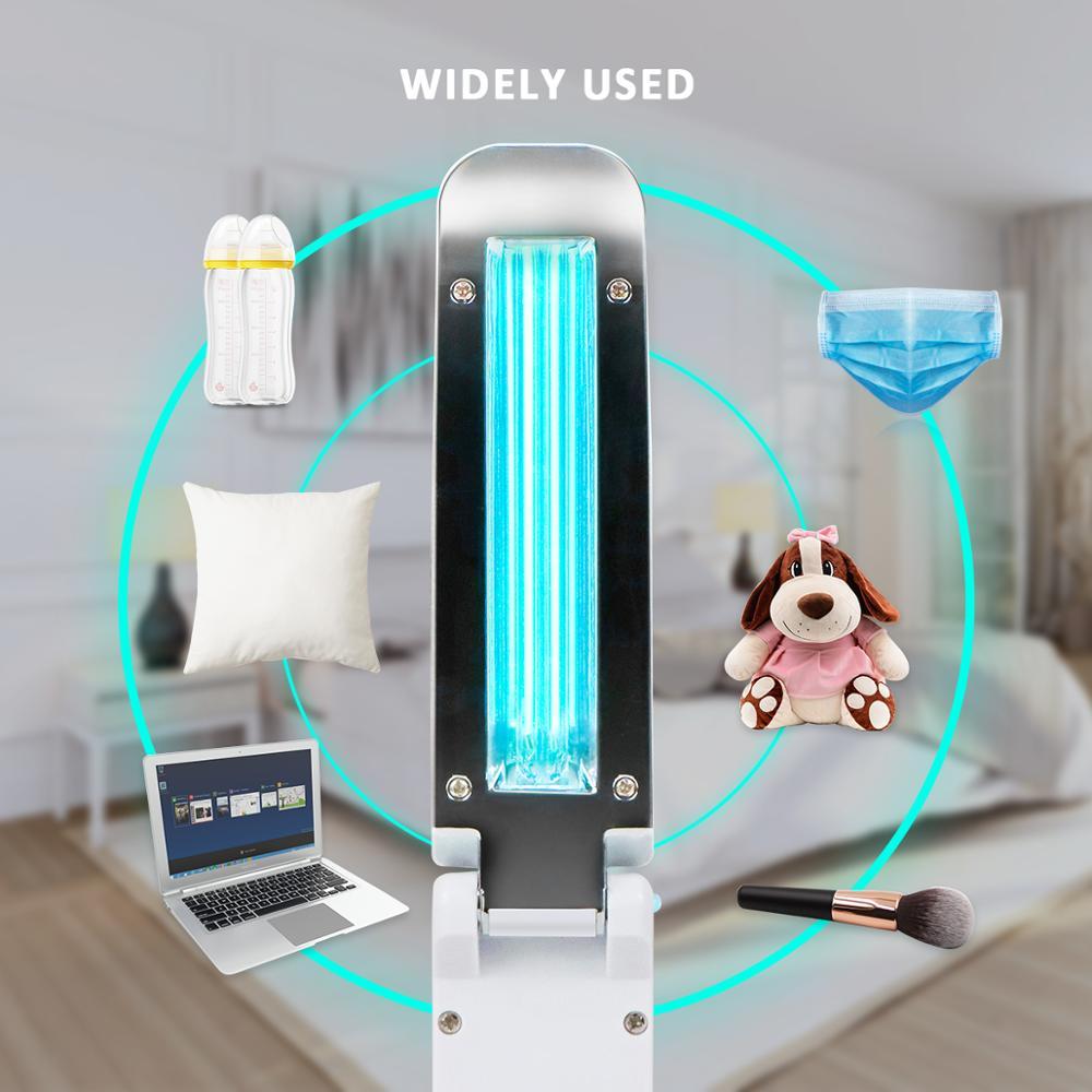 Led Bulb UV Lamp Wand Without Ozone Handheld Folding Outdoor Business Trip Indoor Kitchen Cabinet Ultraviolet UVC Quartz Light 3